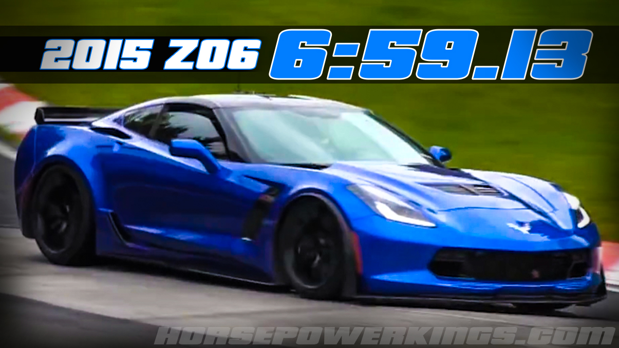 Update: Hail to the King: 2015 Corvette Z06 cracks off a 6:59.13 lap ...